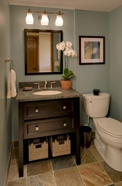 Vintage paint colors bathroom ideas (30)