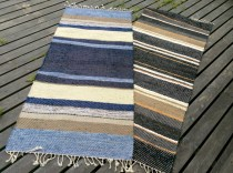 Vintage swedish rag rugs tables ideas 12