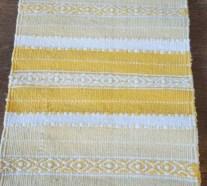 Vintage swedish rag rugs tables ideas 16