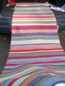 Vintage swedish rag rugs tables ideas 34