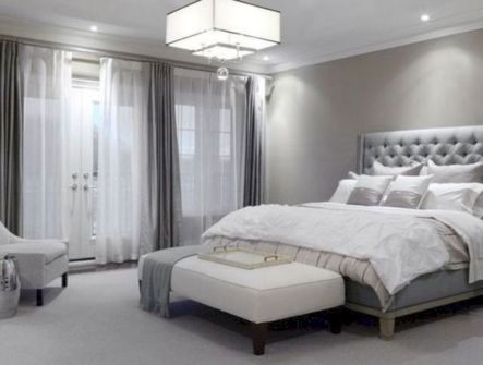 Visually pleasant yellow and grey bedroom designs ideas 54