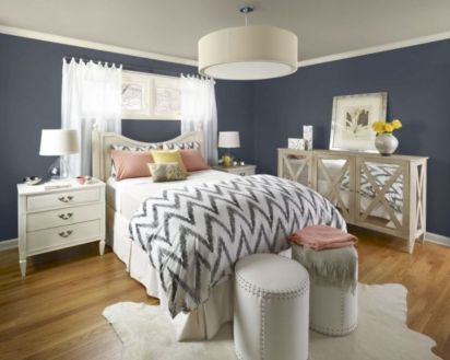 Visually pleasant yellow and grey bedroom designs ideas 59