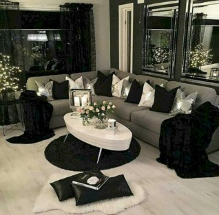 White furniture living room ideas for apartments 45