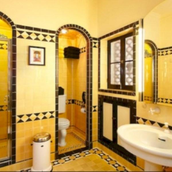 50 Yellow Tile Bathroom Paint Colors Ideas