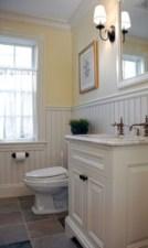 Yellow tile bathroom paint colors ideas (15)