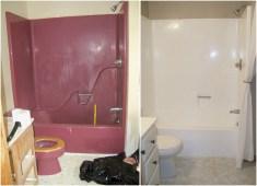 Yellow tile bathroom paint colors ideas (30)