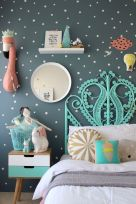 Cool kids bedroom with pink colour 18