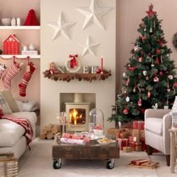 Beautiful scandinavian christmas tree decoration ideas 16
