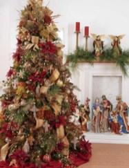 Brilliant ideas christmas tree decoration ideas with ribbon 01