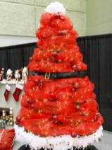 Brilliant ideas christmas tree decoration ideas with ribbon 03