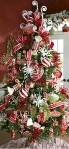 Brilliant ideas christmas tree decoration ideas with ribbon 10