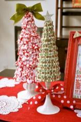 Brilliant ideas christmas tree decoration ideas with ribbon 45