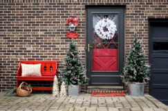 Cool homemade outdoor christmas decorations ideas 08