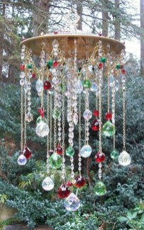 Cool homemade outdoor christmas decorations ideas 23