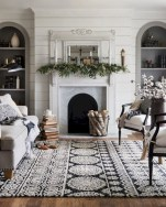 Cozy christmas decoration ideas for your apartment 03