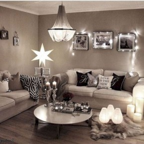 Cozy christmas decoration ideas for your apartment 05