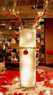 Creative diy christmas table centerpieces ideas 08