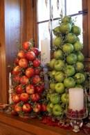 Easy christmas fruit tree centerpieces ideas 04