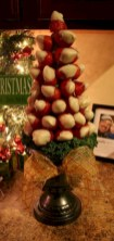 Easy christmas fruit tree centerpieces ideas 05