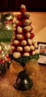 Easy christmas fruit tree centerpieces ideas 05