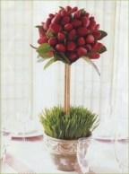 Easy christmas fruit tree centerpieces ideas 06