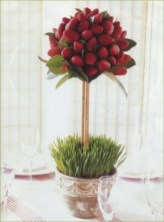 Easy christmas fruit tree centerpieces ideas 06