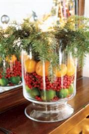 Easy christmas fruit tree centerpieces ideas 07