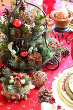 Easy christmas fruit tree centerpieces ideas 19