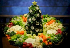 Easy christmas fruit tree centerpieces ideas 21
