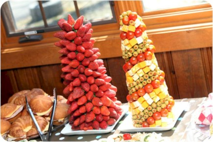 Easy christmas fruit tree centerpieces ideas 23