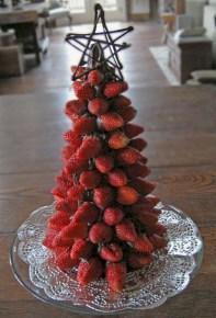 Easy christmas fruit tree centerpieces ideas 24