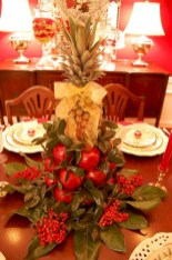 Easy christmas fruit tree centerpieces ideas 28