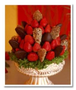 Easy christmas fruit tree centerpieces ideas 38