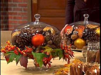 Easy christmas fruit tree centerpieces ideas 43