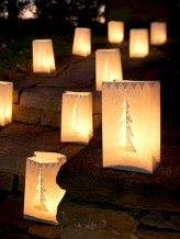 Easy outdoor christmas decorations ideas on a budget 31