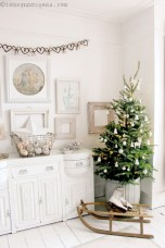 Inspiring chabby chic christmas decoration ideas 03