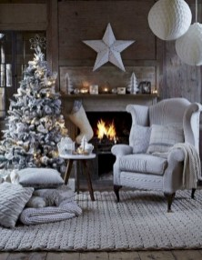 Inspiring chabby chic christmas decoration ideas 06