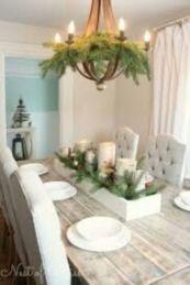 Inspiring farmhouse christmas table centerpieces ideas 28