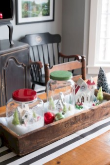 Minimalist christmas coffee table centerpiece ideas 08