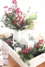 Minimalist christmas coffee table centerpiece ideas 16