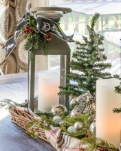 Minimalist christmas coffee table centerpiece ideas 37