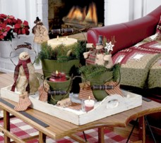 Minimalist christmas coffee table centerpiece ideas 41