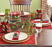 Modern christmas table centerpieces ideas you will totally love 12