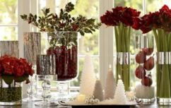 Modern christmas table centerpieces ideas you will totally love 23