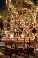 Romantic christmas tree wedding centerpieces ideas 14