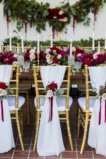 Romantic winter vintage wedding decoration ideas (12)