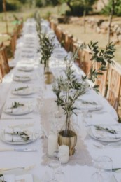 Romantic winter vintage wedding decoration ideas (16)