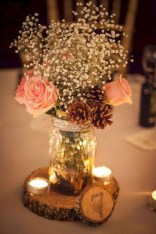 Romantic winter vintage wedding decoration ideas (21)