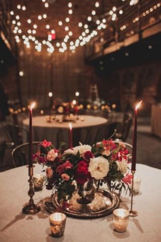 Romantic winter vintage wedding decoration ideas (26)