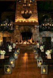 Romantic winter vintage wedding decoration ideas (4)